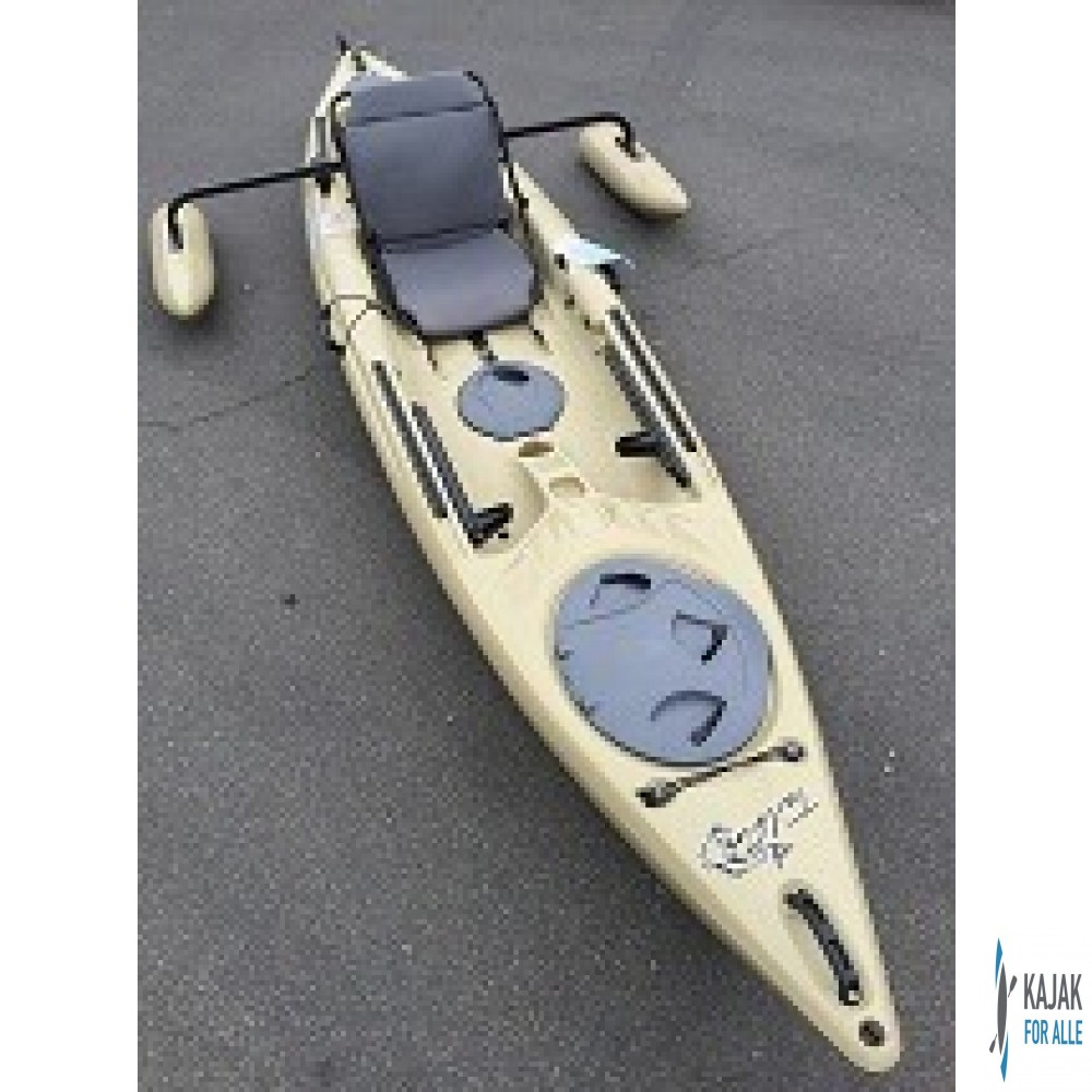Curent designs tailfin outrigger med pontoner