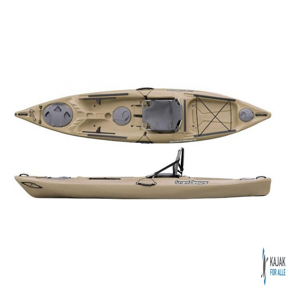 Curent designs tailfin outrigger