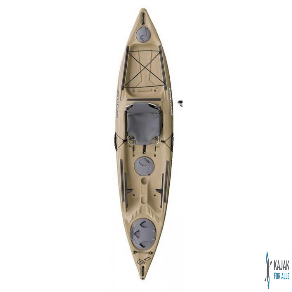 Curent designs tailfin outrigger front